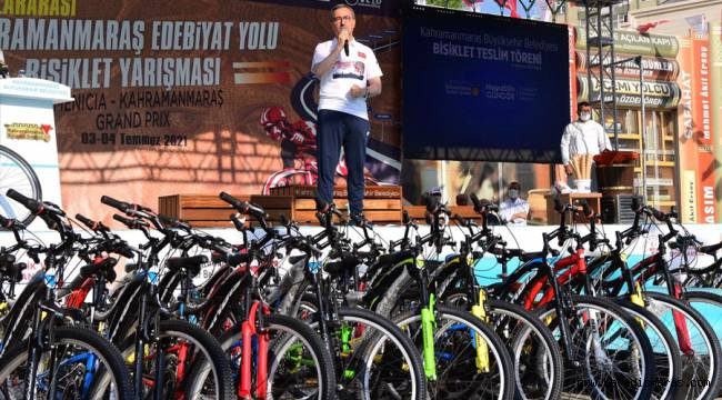 Başkan Güngör'den Bisiklet Sporuna Teşvik