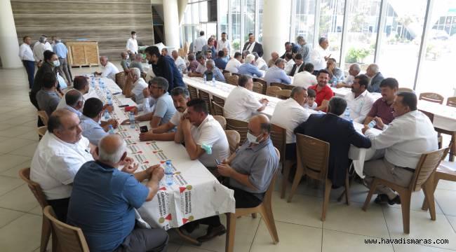 Dulkadiroğlu Muhtarlar Derneği Başkanı Resul Arslanhan güven tazeledi