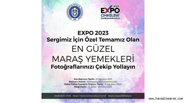 EXPO 2023 Sergisi İçin Maraş Yöresel Yemekleri Fotoğrafınızı Çekip Yollayın