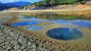 Kahramanmaraş'ta barajları kuraklık vurdu