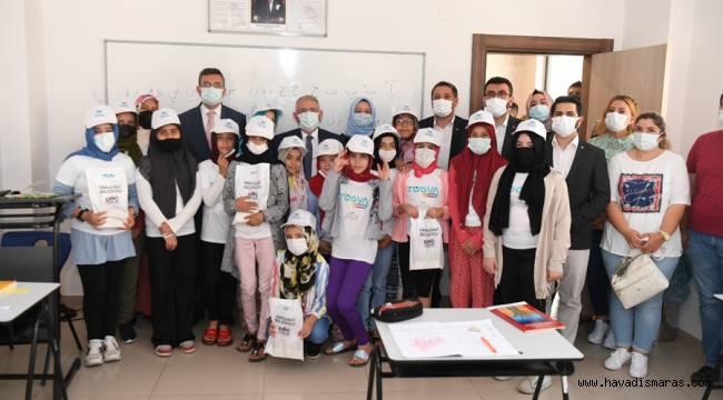 Onikişubat Belediyesi Ev Sahipliğinde TÜGVA Yaz Okulları Açıldı