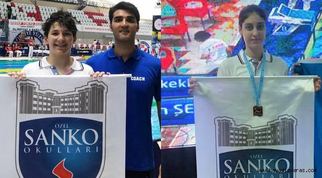 SANKO Okullarının Yüzme Başarısı