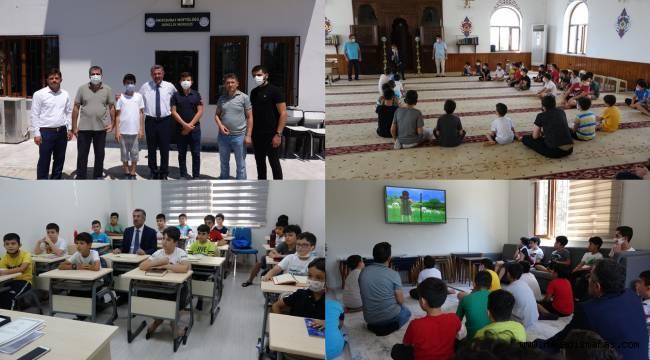 Yaz Kur'an kursları çocuk sesleriyle şenlendi