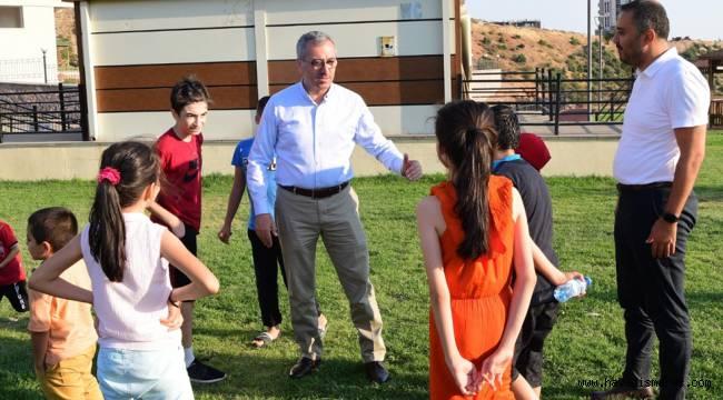 """Başkan Güngör: """"Yavrularımız Bize Emanet"""""""