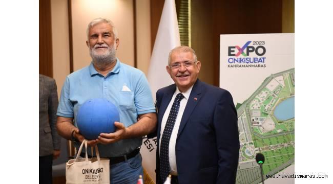 Başkan Mahçiçek'ten Goolball Takımına Malzeme Desteği