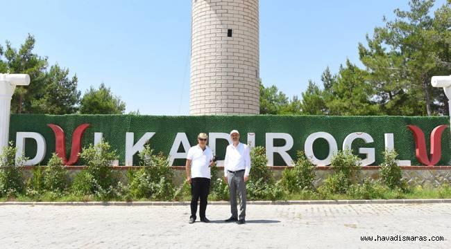 Başkan Okay Kahramanmaraş'ı Geziyorum programında ilçesini ve hizmetlerini anlattı