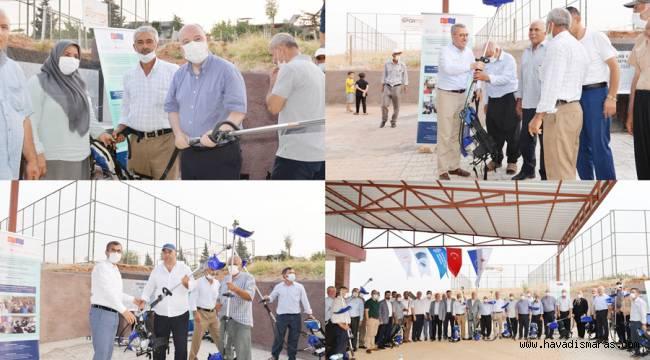 FAO Projesi Kapsamında Zeytin Hasat Makinası Dağıtıldı