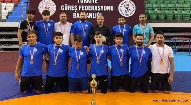 Kahramanmaraş SGK Güreş Takımı Süper Lige çıktı