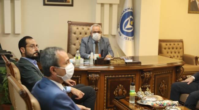 Milletvekili Sezal'dan Rektör Özgül'e ziyaret