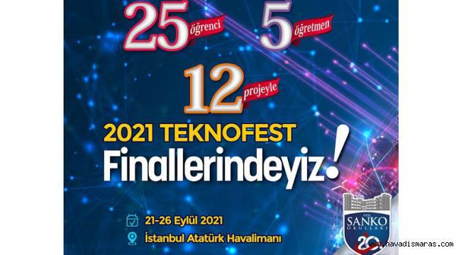 SANKO OKULLARI'NIN 12 PROJESİ TEKNOFEST 2021 FİNALLERİNDE..