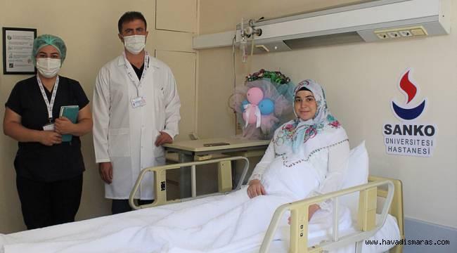SANKO Üniversitesi Hastanesi'nde Kadavradan Böbrek Nakli Olan Hasta İkiz Bebek Dünyaya Getirdi