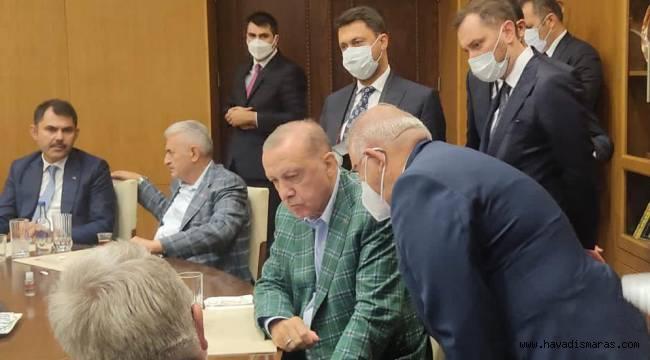 Cumhurbaşkanı Erdoğan Başkan Mahçiçek'in EXPO 2023 Sunumunu ilgiyle takip etti