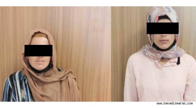 Gezici altın kızlar Kahramanmaraş'ta yakalandı