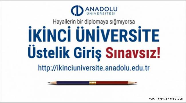 Giriş Sınavsız İkinci Üniversite Kayıtları Devam Ediyor