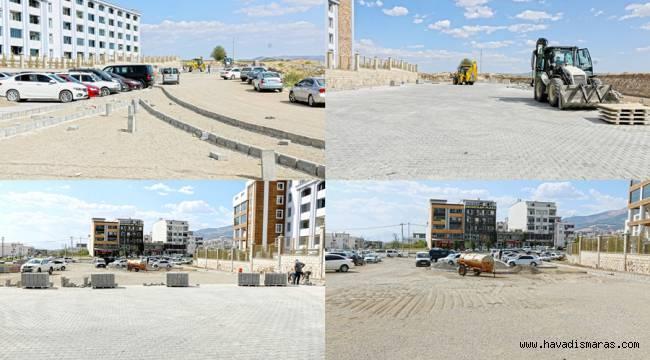 Kuyumcukent'e 5 bin metrekarelik yeni bir otopark alanı inşa ediyor