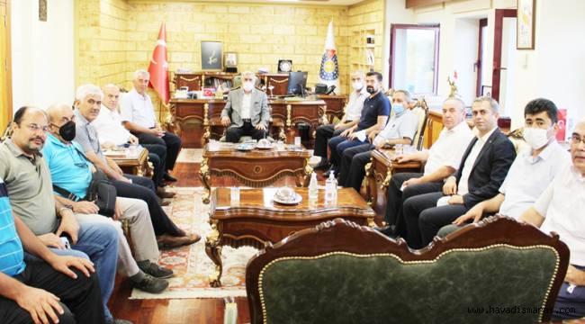 Rektör Can, Kahramanmaraş Tarih Kültür ve Turizm Platformu Üyelerini Ağırladı