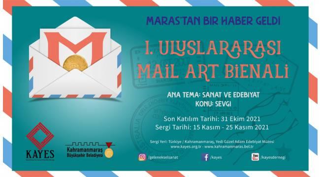 """Sanatın Posta Tonu: """"Maraş'tan Bir Haber Geldi Bienali"""""""