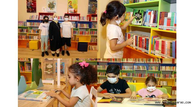 """""""Türkiye'nin ilk AVM çocuk kütüphanesini hayata geçirmenin gururunu yaşıyoruz"""""""