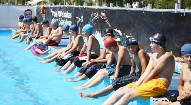 Yüzme kursumuz büyük ilgi ile karşılandı