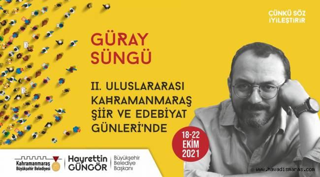 2. Uluslararası Şiir ve Edebiyat Günleri 18 Ekim'de Başlıyor!