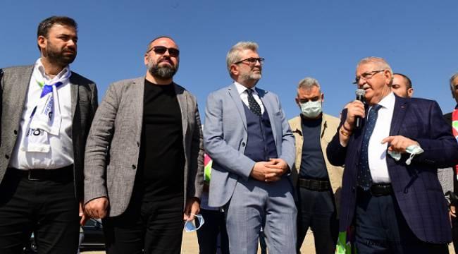 AK Parti İl Teşkilatı EXPO alanını gezdi..