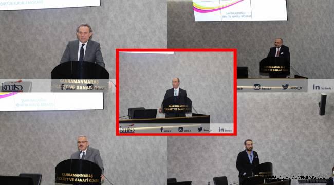"""Başkan Balcıoğlu: """"Kahramanmaraş'ın Sahip Olduğu Büyük Potansiyeli Dünyaya Açacağız"""""""