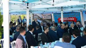 Başkan Mahçiçek Expo Alanında MHP Teşkilatıyla Buluştu..