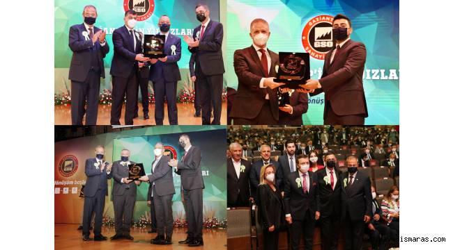 Gaziantep'in Yıldızları Ödül Töreninde SANKO Altı Ödül Aldı