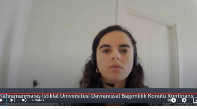 """İstiklal Üniversitesi Tarafından """"Davranışsal Bağımlılık"""" Konulu Çevrim İçi Konferans Düzenlendi"""