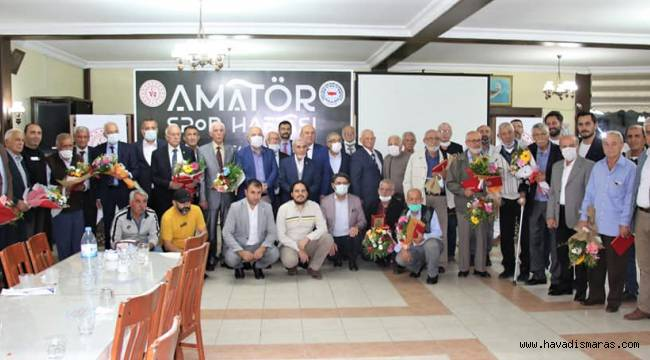 Kahramanmaraş'ta sporun emektarları unutulmadı