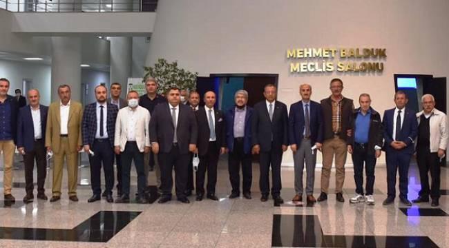KMTSO MECLİSİ EKİM AYI TOPLANTISINI YAPTI ..