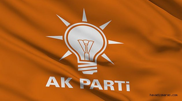 AK PARTİ MKYK'DA 4 MARAŞLI....